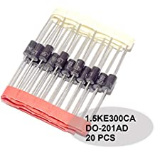 1 piece Transient Voltage Suppressors 400W 15V 5/% Bi TVS Diodes