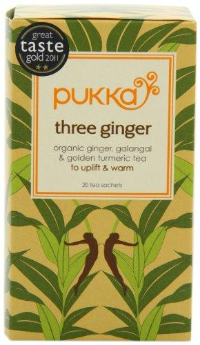 Pukka Organic Three Ginger Count