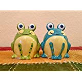 TerraRoad 3-D Frog Sale & Pepper Shaker Sets (1)