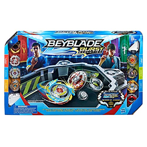 - Beyblade Burst Evolution Ultimate Tournament Collection Tops and Beystadium
