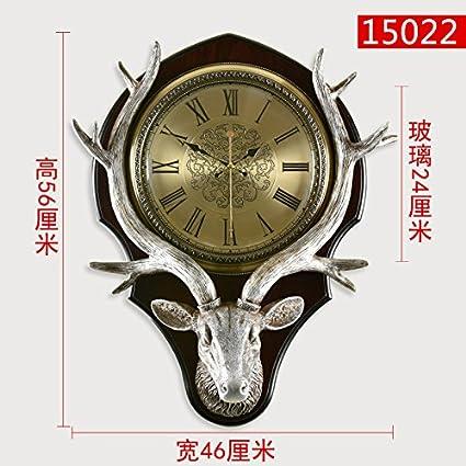 WERLM Diseño de personalidad a la decoración del hogar Reloj de pared Reloj de Arte Salón