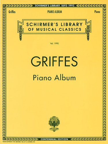 Piano Album (Centennial Edition): Schirmer Library of Classics Volume 1990 Piano Solo (Decade Series) (Best Selling Albums By Decade)