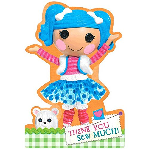"UPC 013051401948, Adorable Lalaloopsy Birthday Party Postcard Thank You Cards Supply (8 Pack), Multi Color, 6 1/4"" x 4 1/4""."