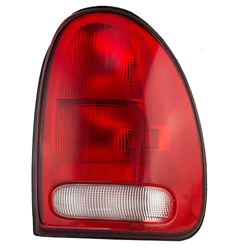 Passengers Taillight Tail Lamp with Circuit Board Replacement for Dodge Chrysler Plymouth Van SUV 4576244 AutoAndArt