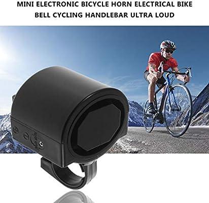 Mini Elektronische Fahrrad Hupe Elektrische Fahrradklingel Fahrradlenker DE
