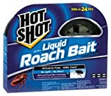 Hot Shot 95789 Mini Ultra Liquid Roach Bait, 6 Count