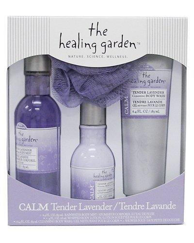 The Healing Garden Gift Set: Tender Lavender