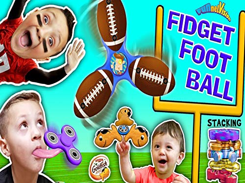 (Fidget Spinner Football Game, Tricks, Fidget Beyblades, Spinning Times, Goldfish And FUNnel)