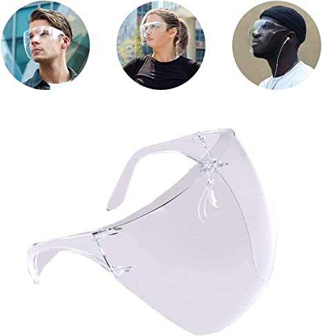 M Face Cover Designed Fashion Style /& Comfort Face Shield