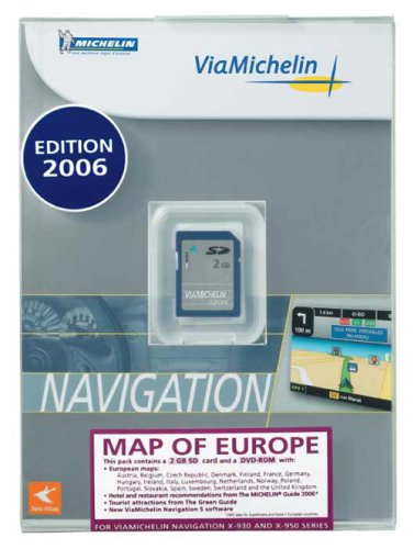 carte sd viamichelin europe