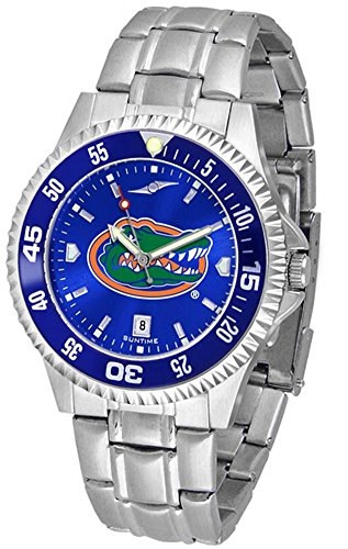 University of Florida Gators Men's Watch Stainless Steel AnoChrome Wristwatch