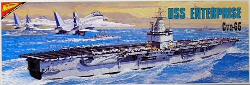 ニチモ 30センチシリーズ No.24 モーターライズキット アメリカ海軍原子力空母 エンタープライズ(第3次) CVN65 【324】