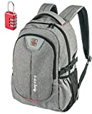 Laptop Backpack for Men Women - Fits up to 17 inch Laptop Computer - Best Travel Carry on College Student Work Backpack - Water-resistant Backpack...