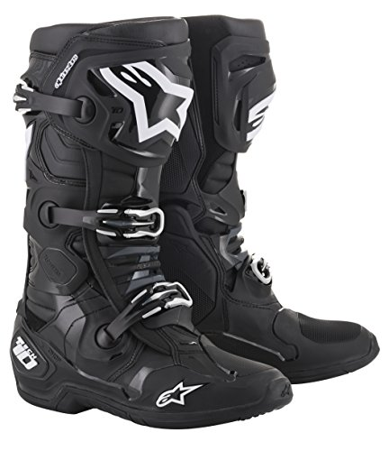 Tech 10 Off-Road Motocross Boot (10 US, Black)