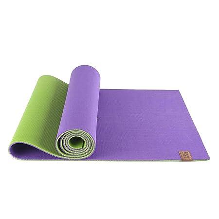 HCJYJD Alfombras de Yoga, Antideslizante Espesar Caucho ...