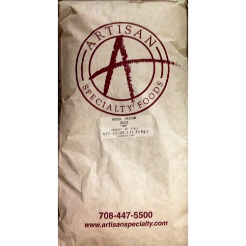 Artisan''00'' Pizza Flour, All Natural - 25 Lb Bag by Artisan Specialty