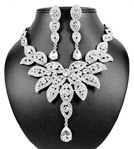 Janefashions Austrian Rhinestone Necklace N1581