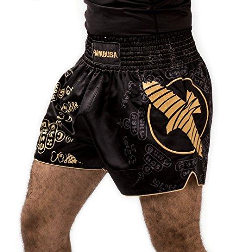 Hayabusa Falcon Muay Thai, Kickboxing and MMA Shorts (Large, - Thai Hayabusa Muay Shorts