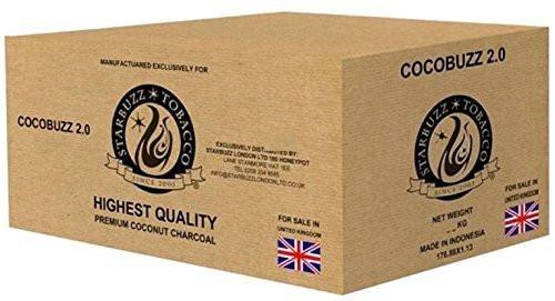 Starbuzz Cocobuzz 2.0naturale di cocco carbone Shisha lounge confezione (10KG)