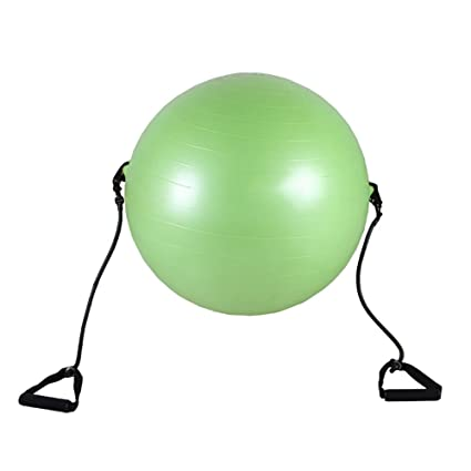Amazon.com: Pelota de yoga extra gruesa de 25.6 in ...