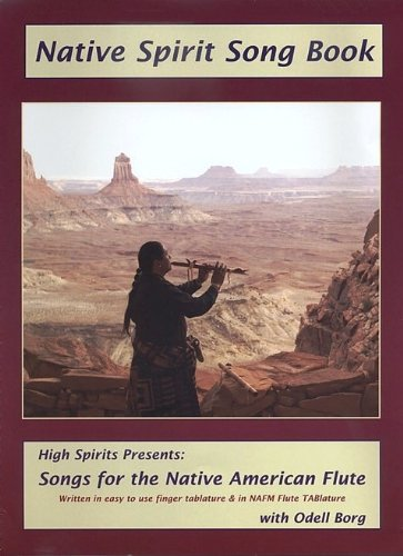 Native Spirit Song Book with CD