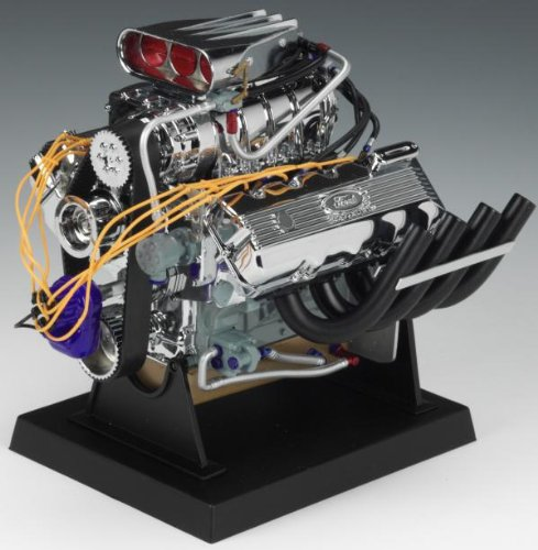 Liberty Classics Ford Top Fuel Dragster Engine Replica, 1/6th Scale Die Cast - Diecast Engine