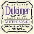 D'Addario J64 4-String Dulcimer Strings