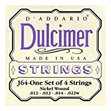D\'Addario J64 4-String Dulcimer Strings