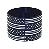 American Flag Silicone Stretchable Bracelet 4-Pack