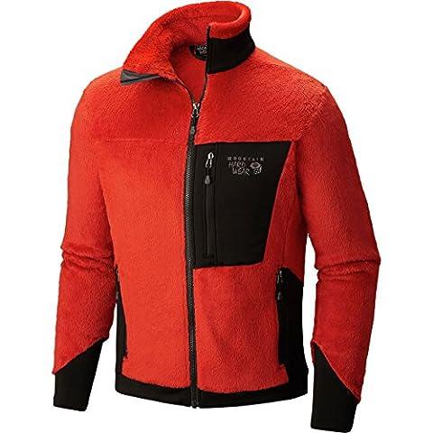 Mountain Hardwear Monkey Man 200 Jacket - Men's Dark Fire Large - Hi Loft Fleece Jacket