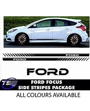Ford Focus Seitenstreifen Auto Kit Tdci Zetec S Rs 20 Vinyl