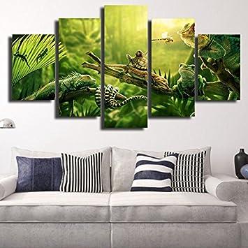 QFQH Farmework Modern Leinwand Bilder HD Drucken Wall Art ...