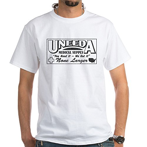 CafePress Uneeda Medical Supply - Premium Tee - 100% Cotton T-Shirt, White