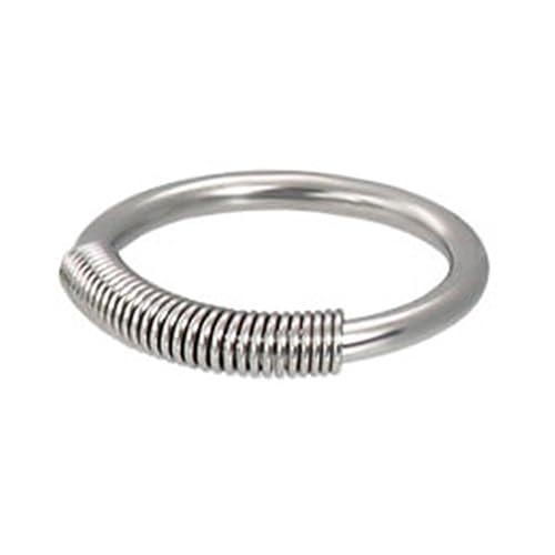 Spring Draht Captive Bead Ring, 16 GA: Amazon.de: Schmuck