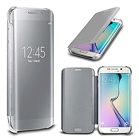 Rejected all traditions For Samsung Galaxy Note 4(Silver) Luxury Gold Plating Ultra Thin Mirror Smart View Window Mirror PC Hard Case Leather (Note 4 Case Of Rats)