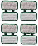 Synonymous Pads Compatible with Shark Sonic Duo Pads, Shark Sonic Duo Replacement Pads (4 Pack)