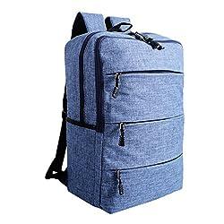 dac48f9b2d896 ZKOO Damen   Herren Rucksäcke Leinwand Schulrucksack Reiserucksack  Ultraleicht Rucksack Backpack Laptoprucksack Handgepäck Freizeit Mode