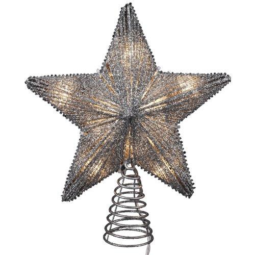 Kurt Adler Star Glitter Treetop