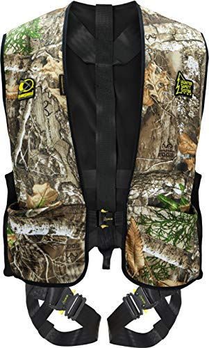 Hunter Safety System Treestalker Tree Stand Safety Harness, ElimiShield Scent Control (New), Large/X-Large