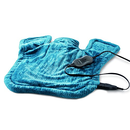 sunbeam heating pad blue - 7
