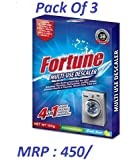 Fortune Multi-Use Descaler Powder For Washing Machine, Dish Washer Etc Pack Of 3