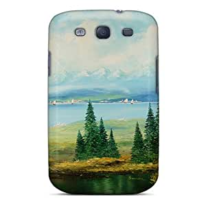New SDBFO9248zTrYK Little Pond Inthe Middle Tpu Cover Case For Galaxy S3
