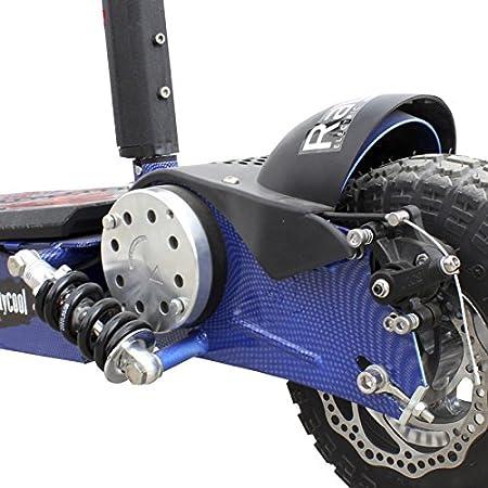 Patinete Eléctrico Raycool Carbon Blue 1000W - Frenos de ...