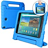 Samsung Galaxy Tab A 8.0 case for kids [SHOCK PROOF KIDS TAB 8 CASE] COOPER DYNAMO Kidproof Child Tab A 8 inch Cover for Boys Girls Toddlers | Kid Friendly Handle Stand, Light, Screen Protector (Blue)