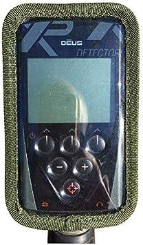 Regen Schutzh/ülle f/ür Xp Deus//XP ORX Metalldetektor Controller Box Olive Schmutz