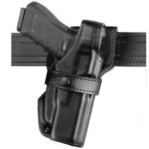 Safariland 0705 Level III 1.5-Inch Drop Retention Duty Holster, Low Ride, Black, Plain Right Hand, 0705-83-161
