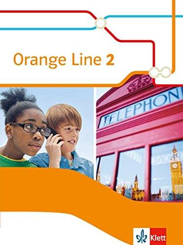 Orange Line 2: Schülerbuch (flexibler Einband) Klasse 6 (Orange Line. Ausgabe ab 2014)