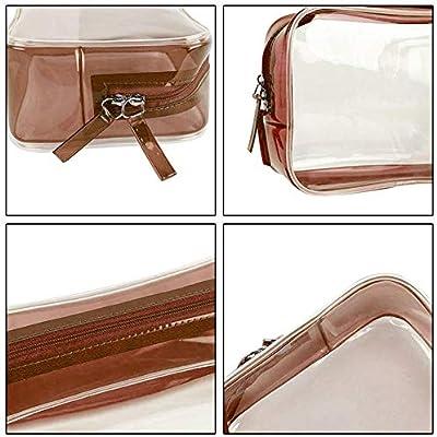 cc6e9d0f8264 Jocestyle Waterproof Women PVC Transparent Travel Makeup Bags ...