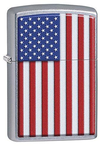 (Zippo 29722 Patriotic Street Chrome Lighter)