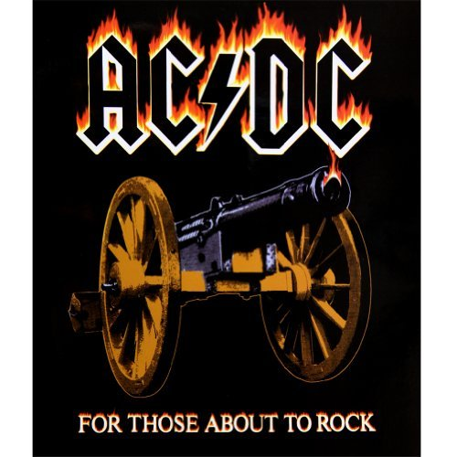 Price comparison product image AC/DC - About To Rock Fleece Blanket